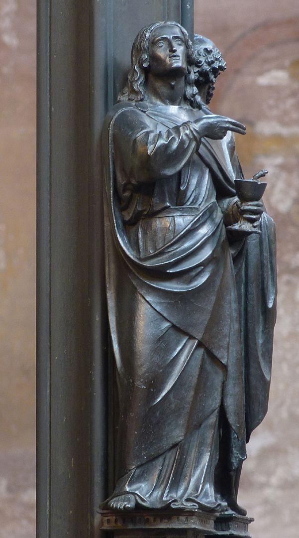 Sebaldusgrab (Südseite) Johannes