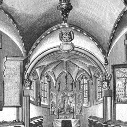 """The Holzschuher Collegiate Chapel of the Higher nobility…"""