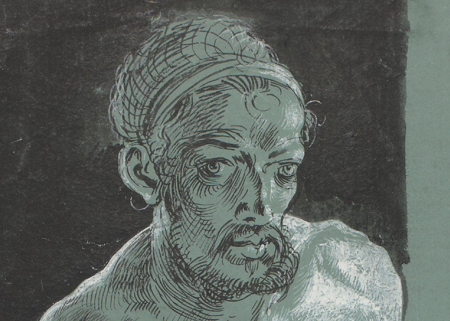 Self portrait as a nude Face