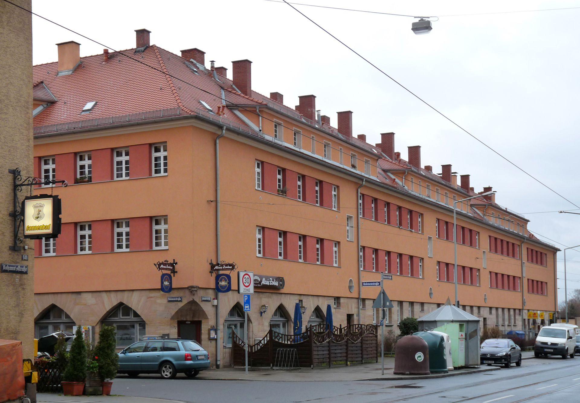 """Building 67-80"" Corner Helenenstraße"