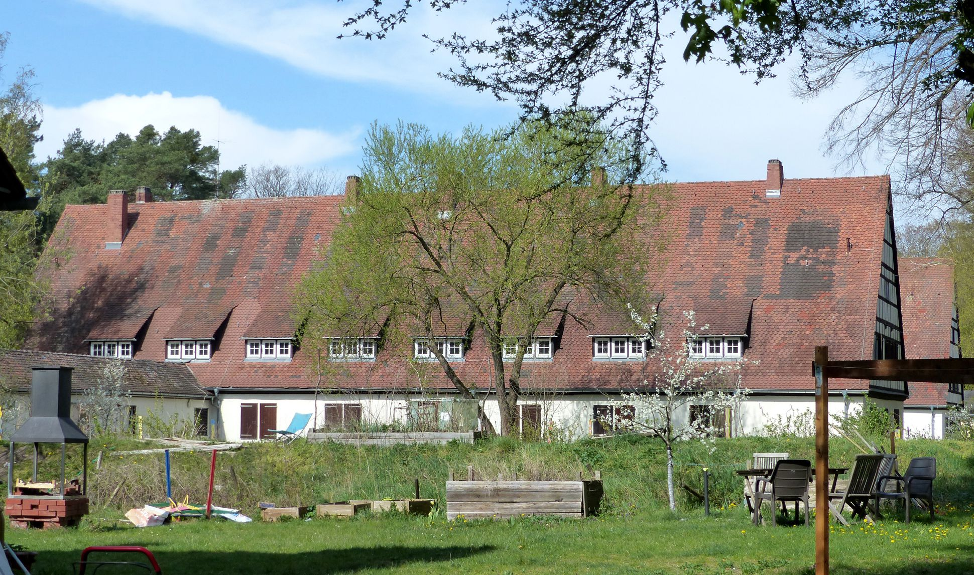 Workers´ accommodations (today August-Meier-Settlement) Former workers´accommodation, lateral view