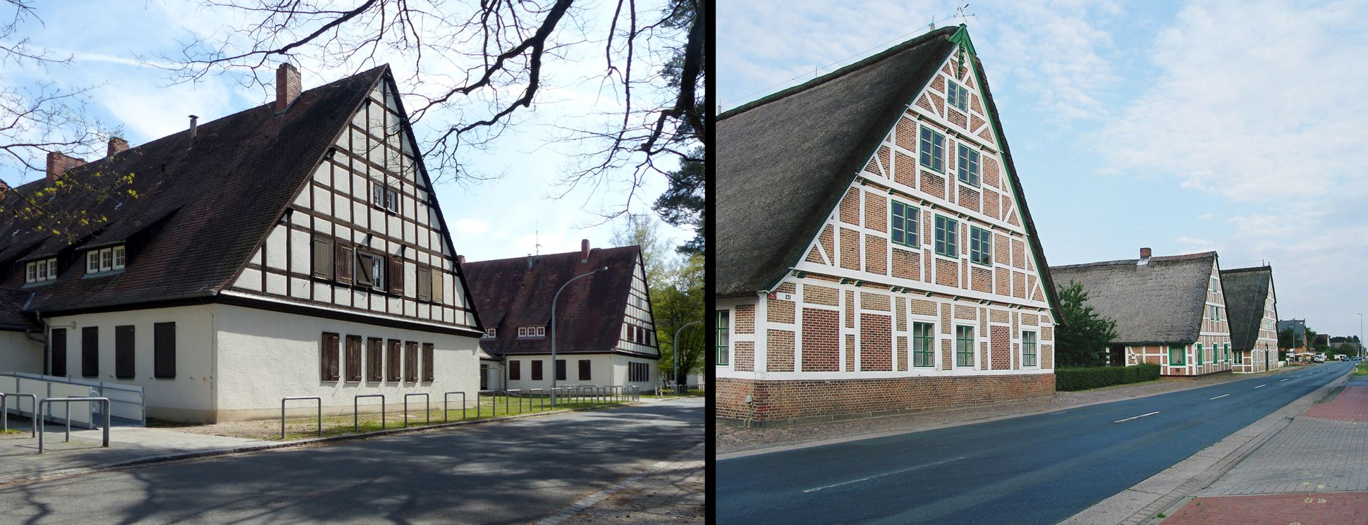 Workers´ accommodations (today August-Meier-Settlement) Comparison NUremberg / Jork