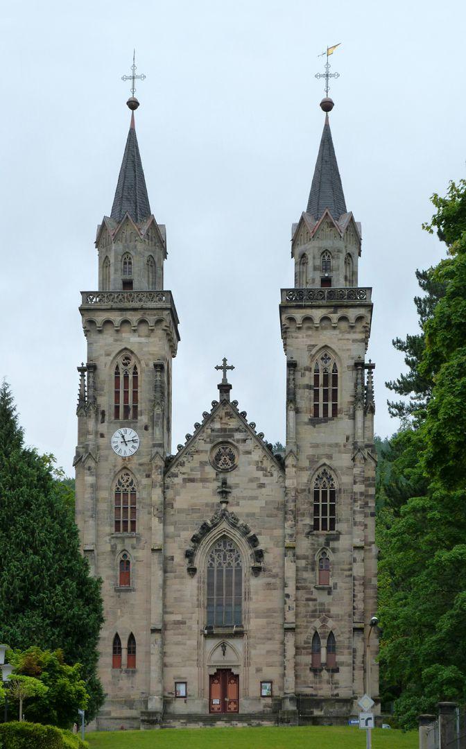 Parish Church St. Peter´s (Sonneberg) Front