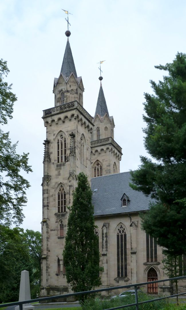 Parish Church St. Peter´s (Sonneberg) right side