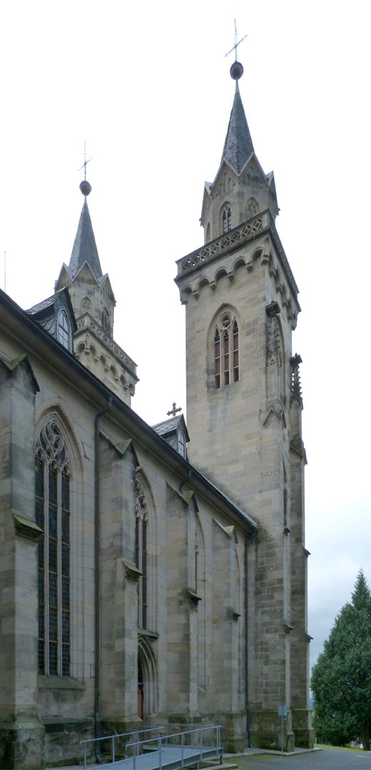 Parish Church St. Peter´s (Sonneberg) left side