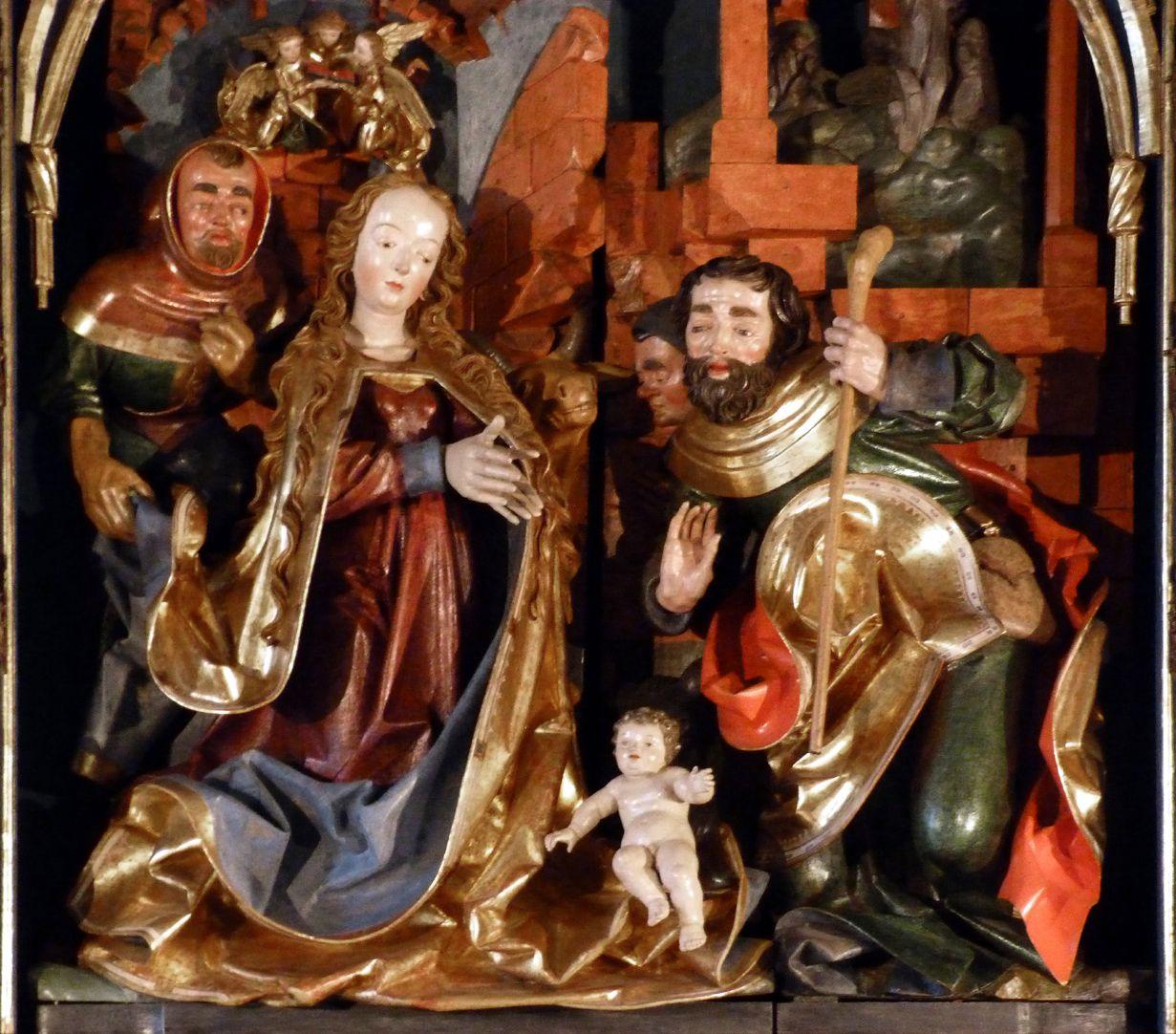 Altar of Mary (Salzburg) Central shrine, main group