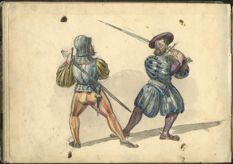 Sketchbook with views of Streitberg and Neideck / incl. Hallerweiherhaus in Nuremberg Last page