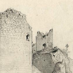 Sketchbook with views of Streitberg and Neideck / incl. Hallerweiherhaus in Nuremberg