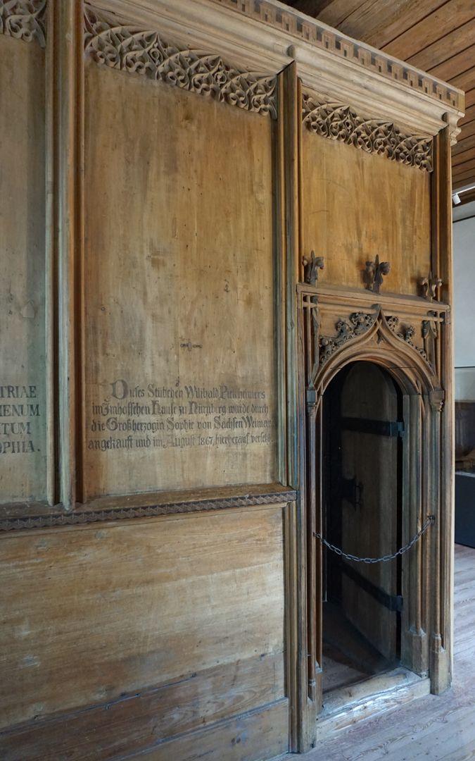 Studiolo des Anton Koberger Eingangsbereich