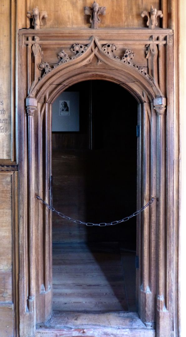 Studiolo des Anton Koberger Eingang, frontal