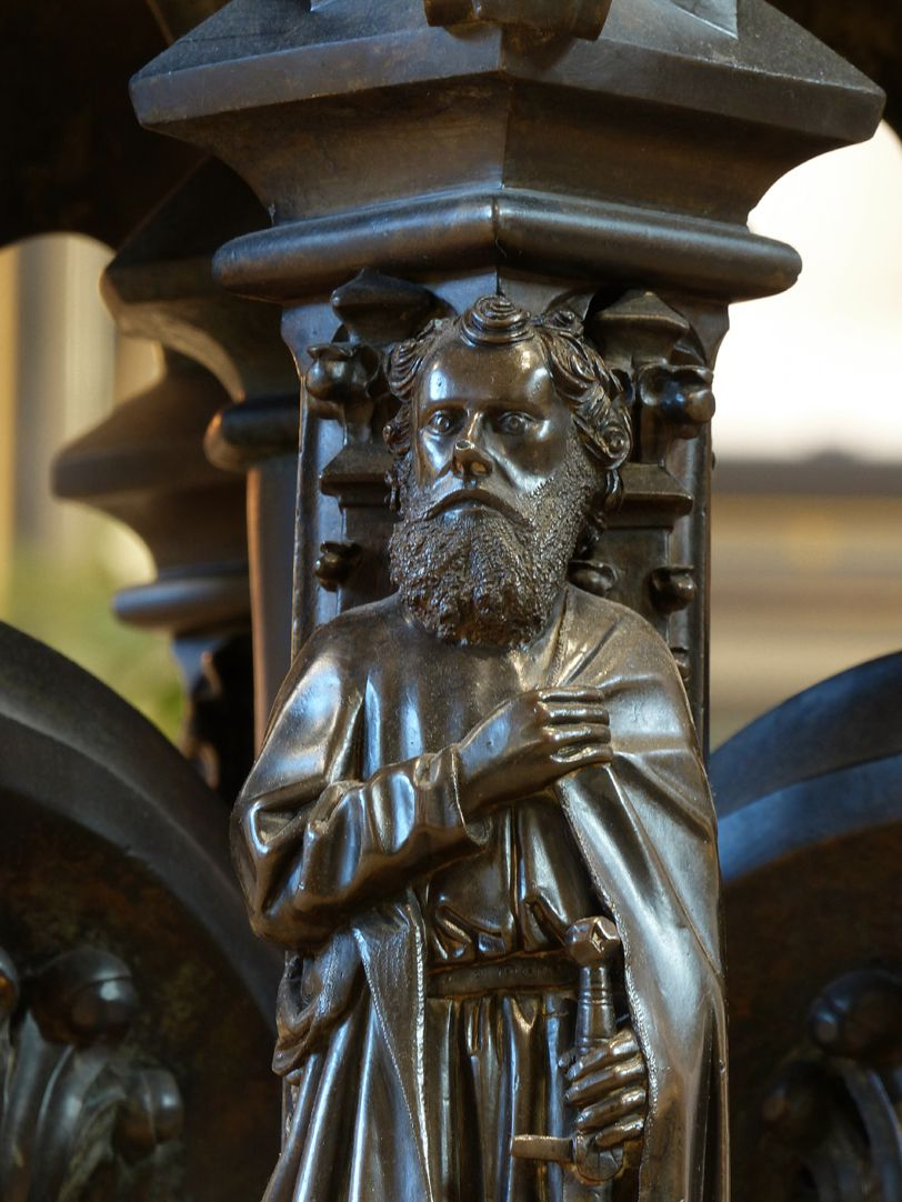 Baptismal font St. Paul, detail