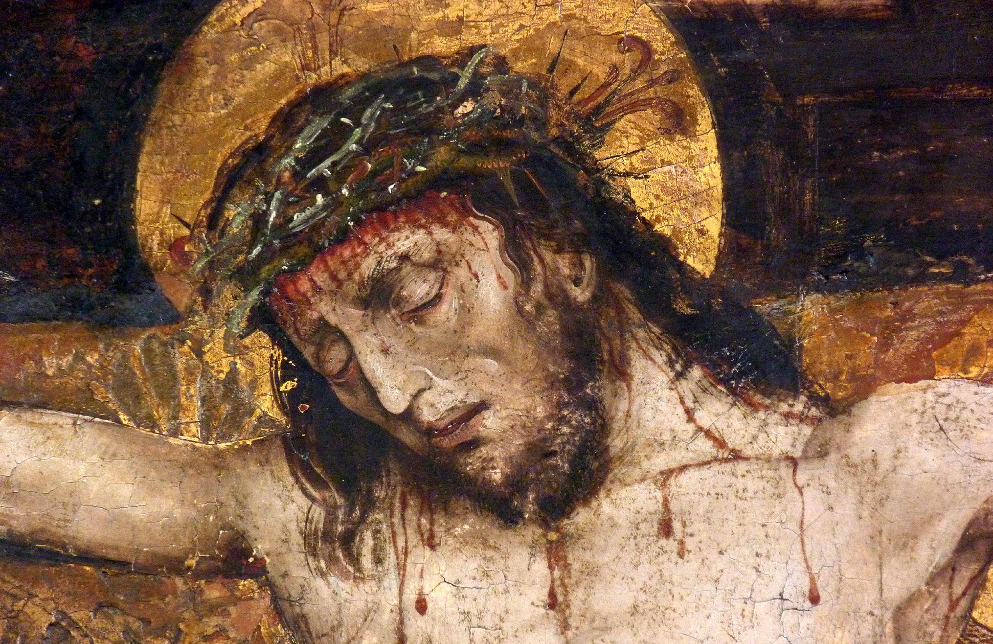 Epitaph der Obernitz Haupt Jesu