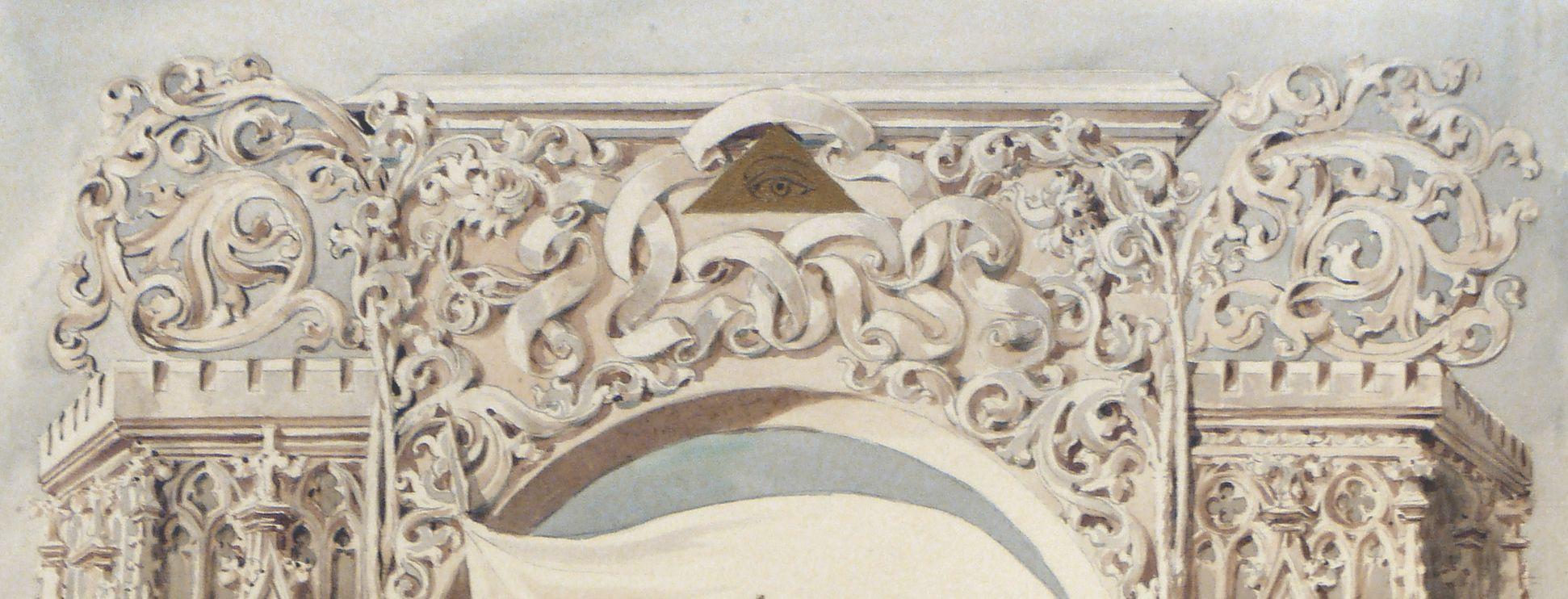 Landsberg Castle, title page Detail