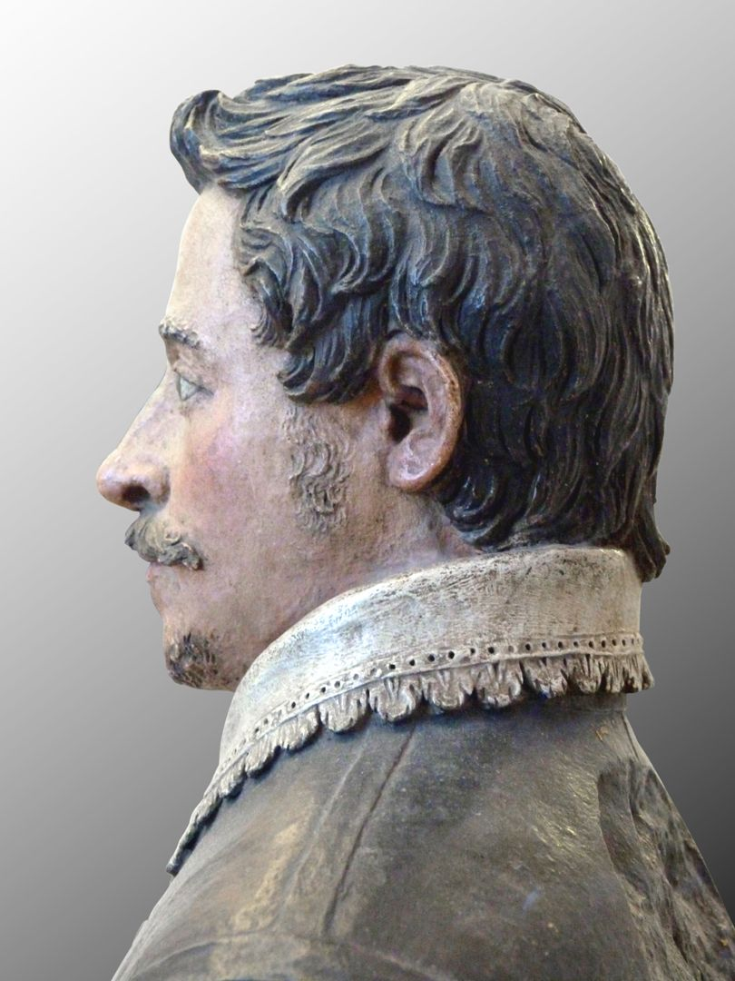 Bust of an unknown man linkes Profil