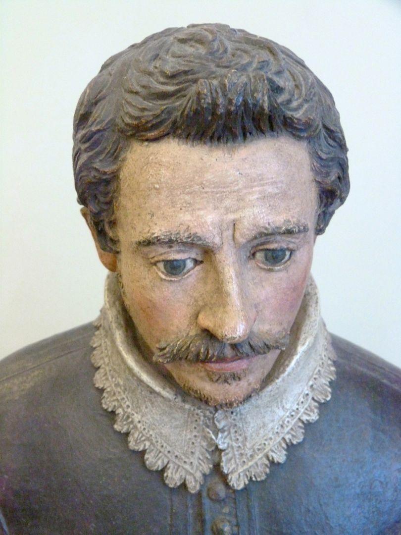 Bust of an unknown man Blick von oben