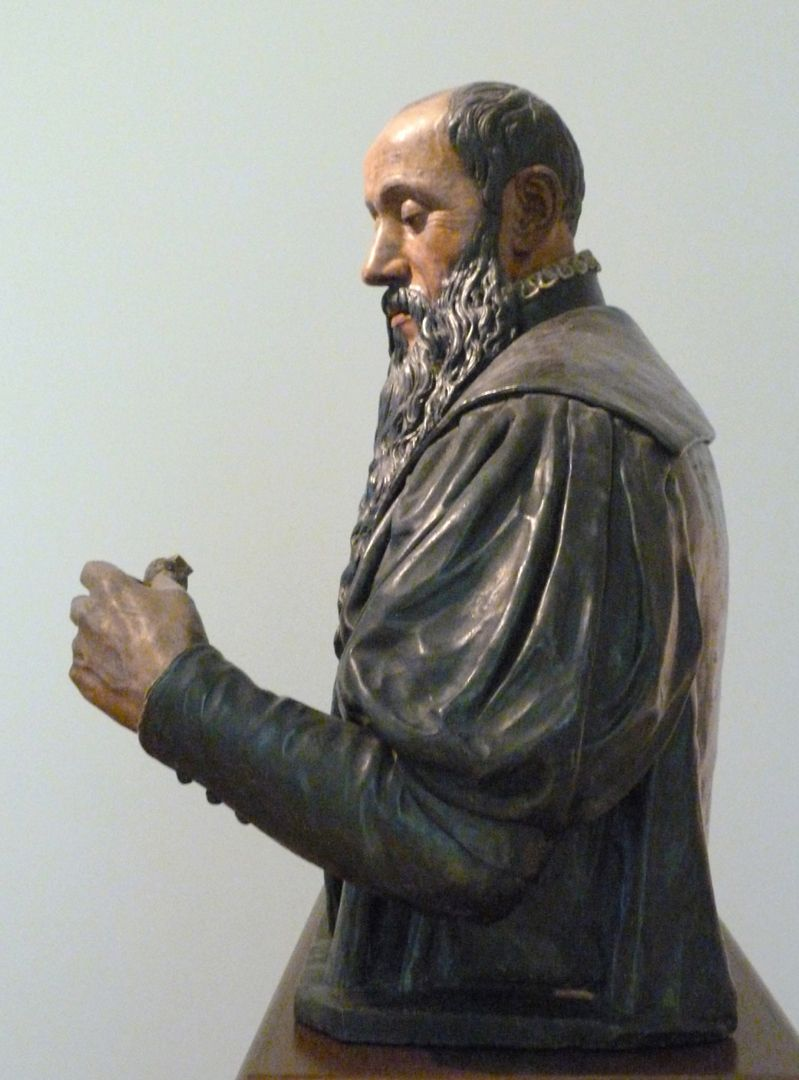 Büste des Willibald Imhoff d.Ä. Büste, linkes Profil