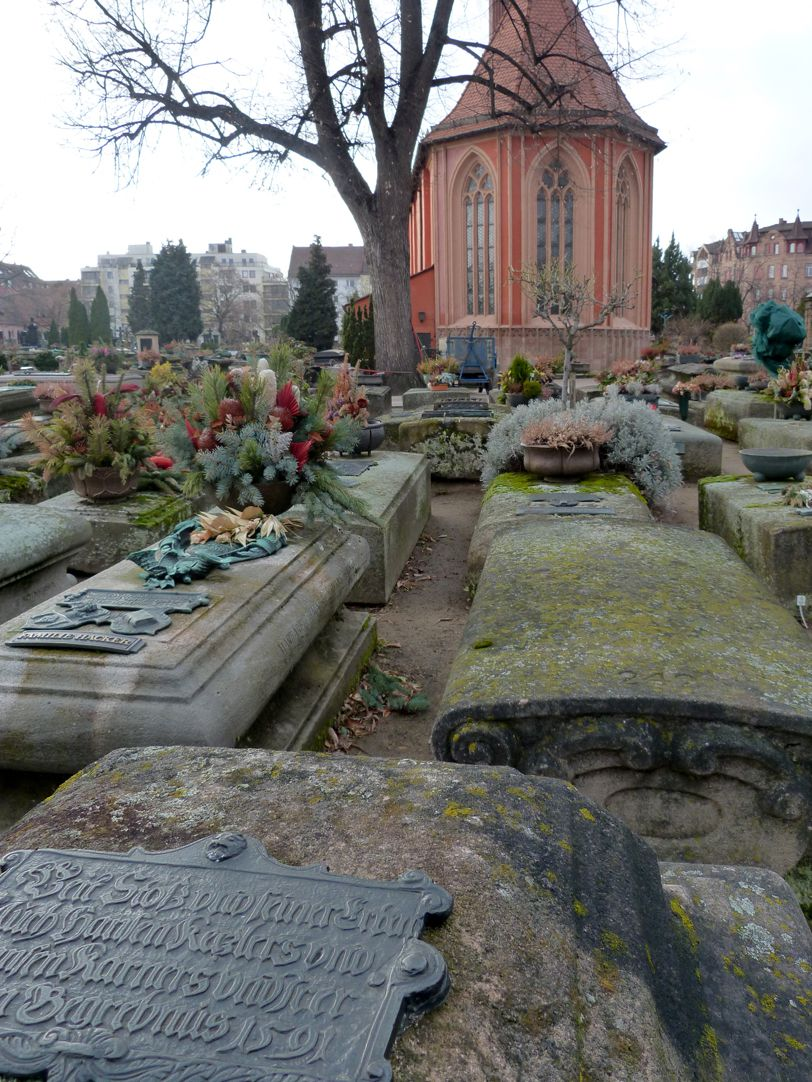 Epitaph of Veit Stoss and his heirs Burial ground with St. John´s Church (St Johannis Kirche)