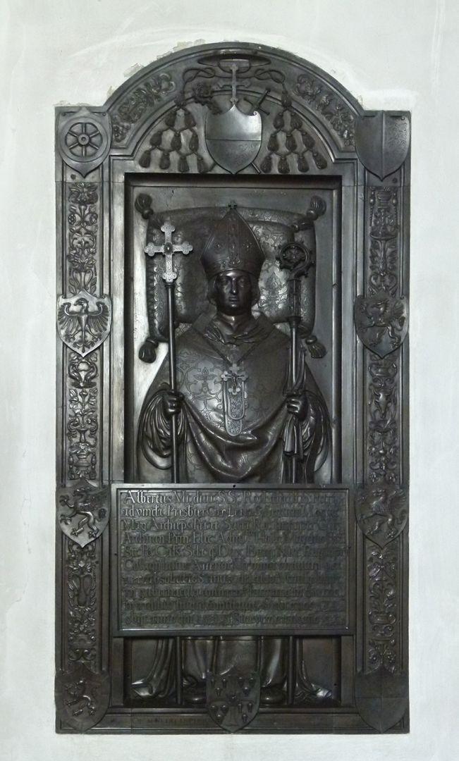 Memorial panel of Albrecht of Brandenburg Total view
