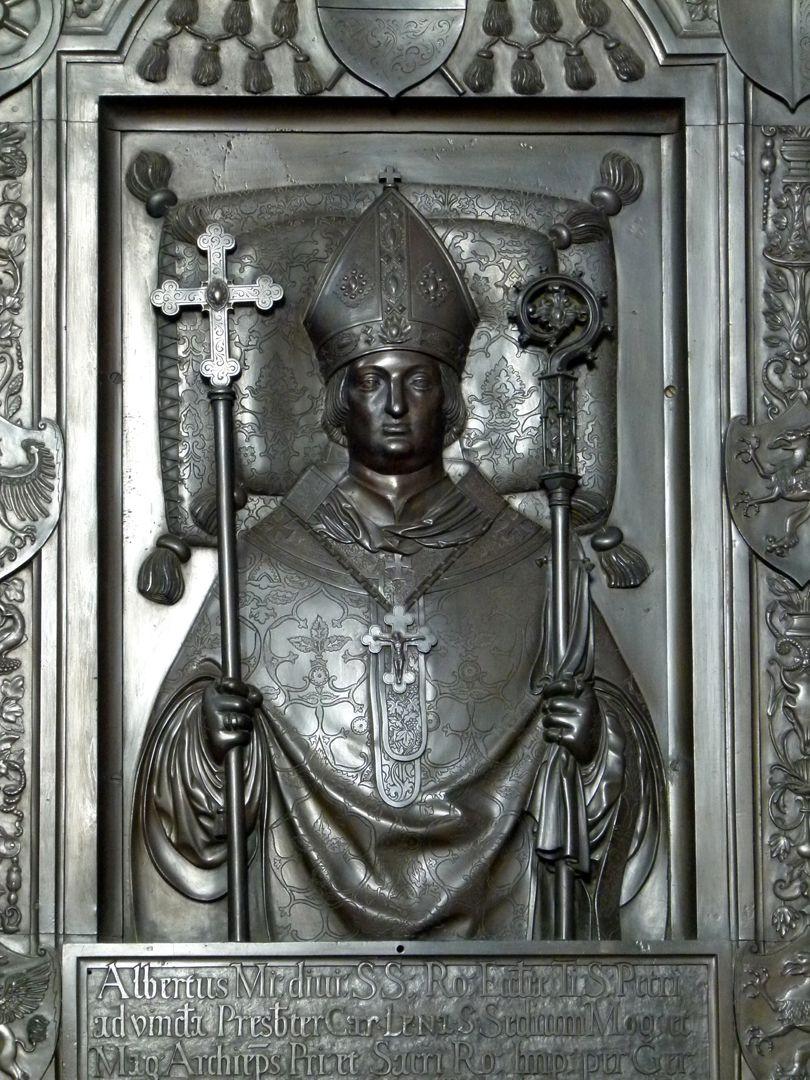 Memorial panel of Albrecht of Brandenburg Detail