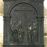 Brass epitaph of Margarete Tucher