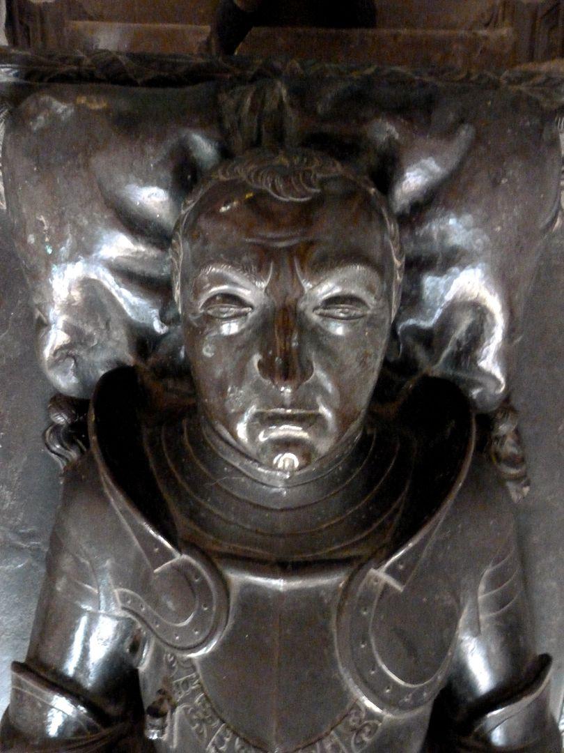 Tomb of Count Hoyer VI of Mansfeld-Vorderort (attribution) Lying figure, head