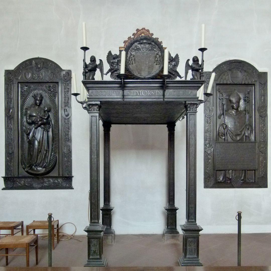 Memorial of Albrecht of Brandenburg: Canopy Canopy