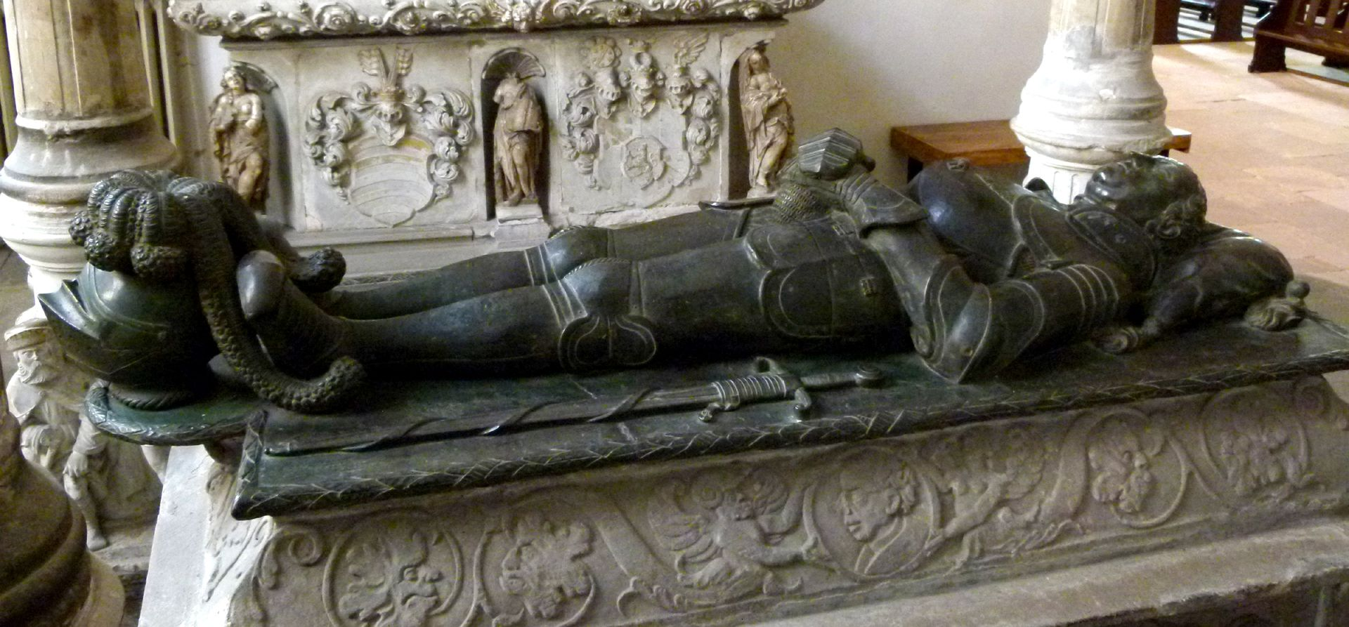 Tomb of Count Hoyer VI of Mansfeld-Vorderort (attribution) Lying figure
