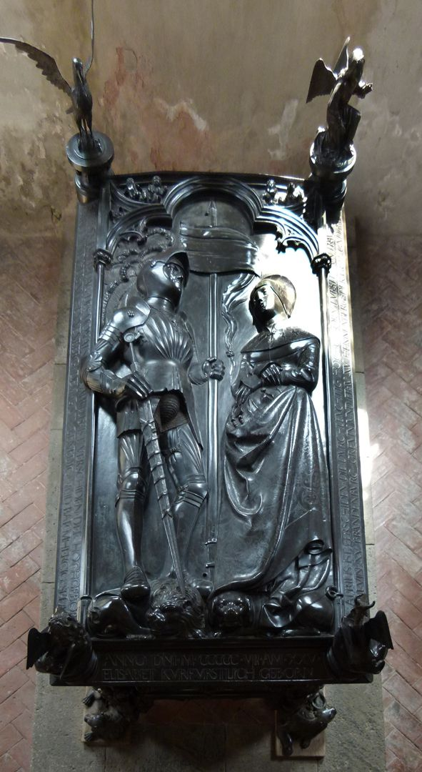 Tomb of the couple Hermann and Elisabeth of Henneberg Cover plate