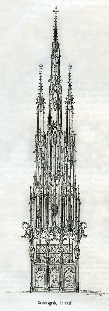 St.Sebaldus Tomb, original draft