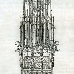 St.Sebaldus Tomb, original draft
