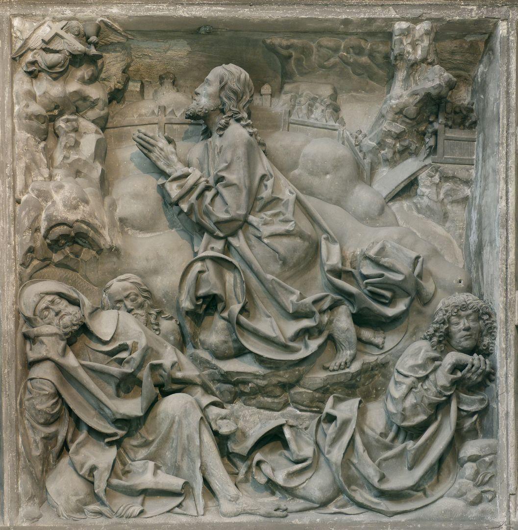 Volckamer Memorial Foundation, relief plates Prayer on the Mount of Olives