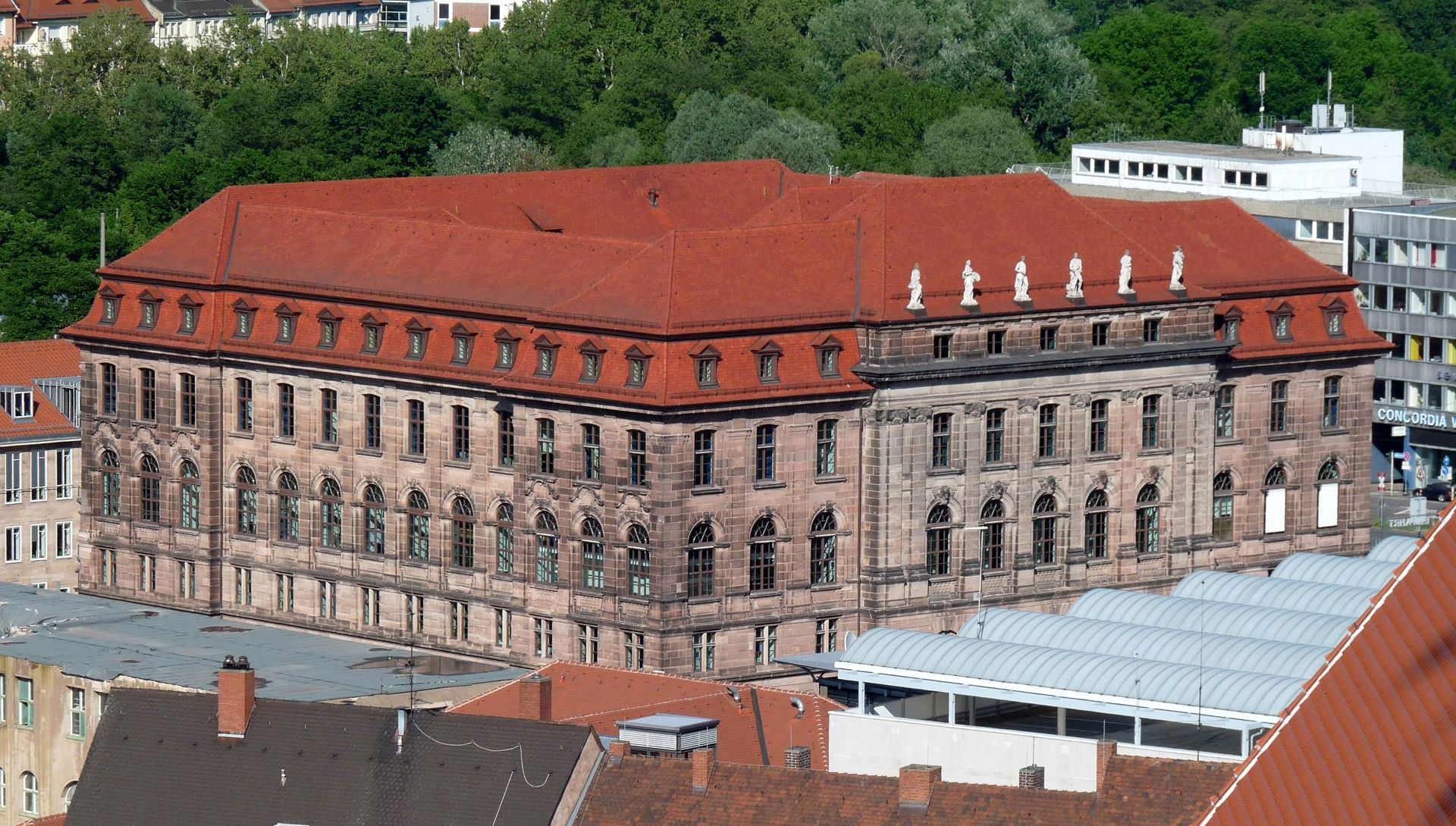 Former Bavarian Trade and Business Institute (Landesgewerbeanstalt) South view
