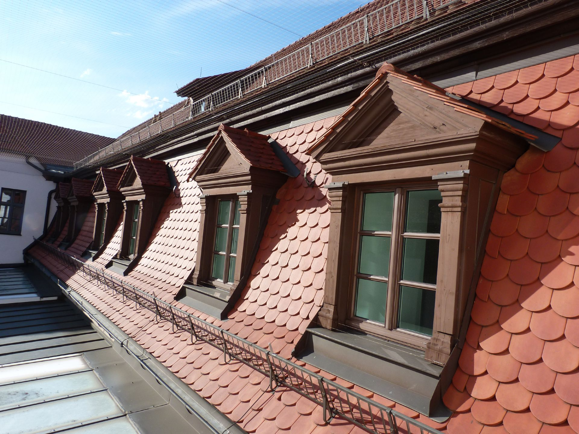 Former Bavarian Trade and Business Institute (Landesgewerbeanstalt) Mansard roof