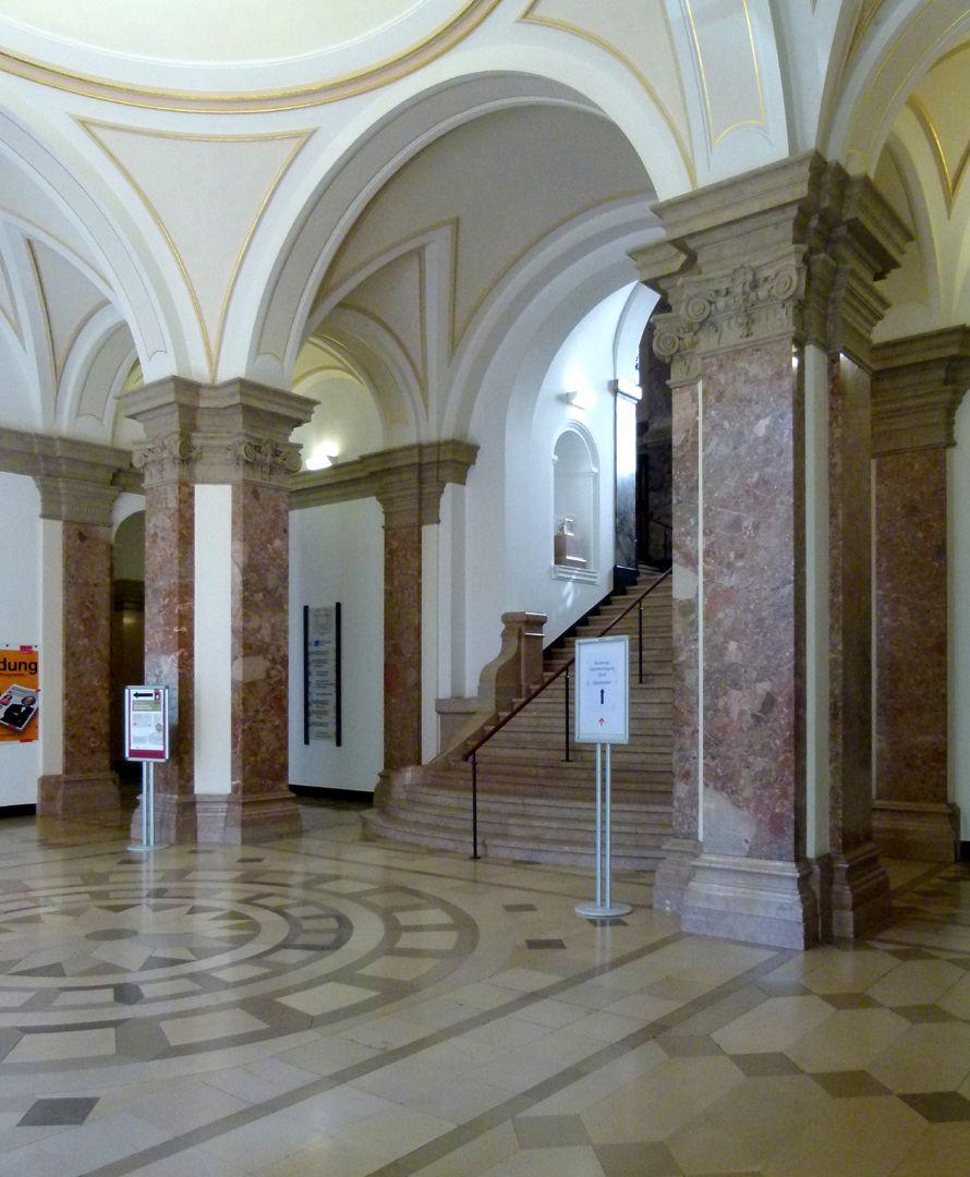 Former Bavarian Trade and Business Institute (Landesgewerbeanstalt) Vestibule