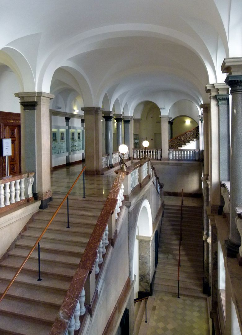 Former Bavarian Trade and Business Institute (Landesgewerbeanstalt) Stairwell
