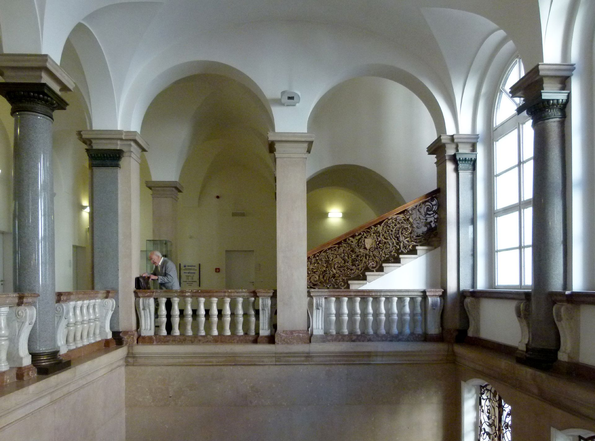 Former Bavarian Trade and Business Institute (Landesgewerbeanstalt) Stair well gallery
