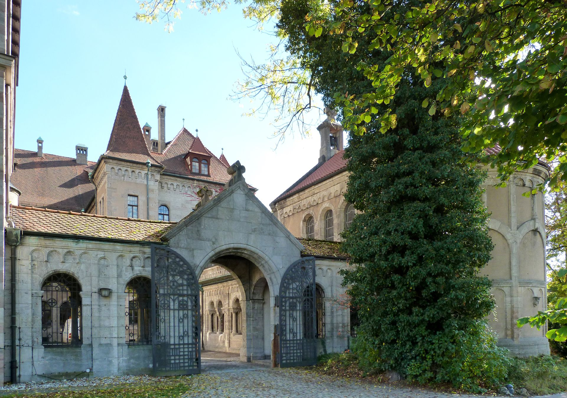 Castle Faber-Castell Entrance in Nürnberger Straße