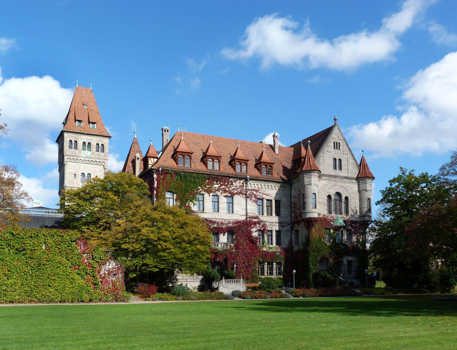 Castle Faber-Castell Park, southwest view