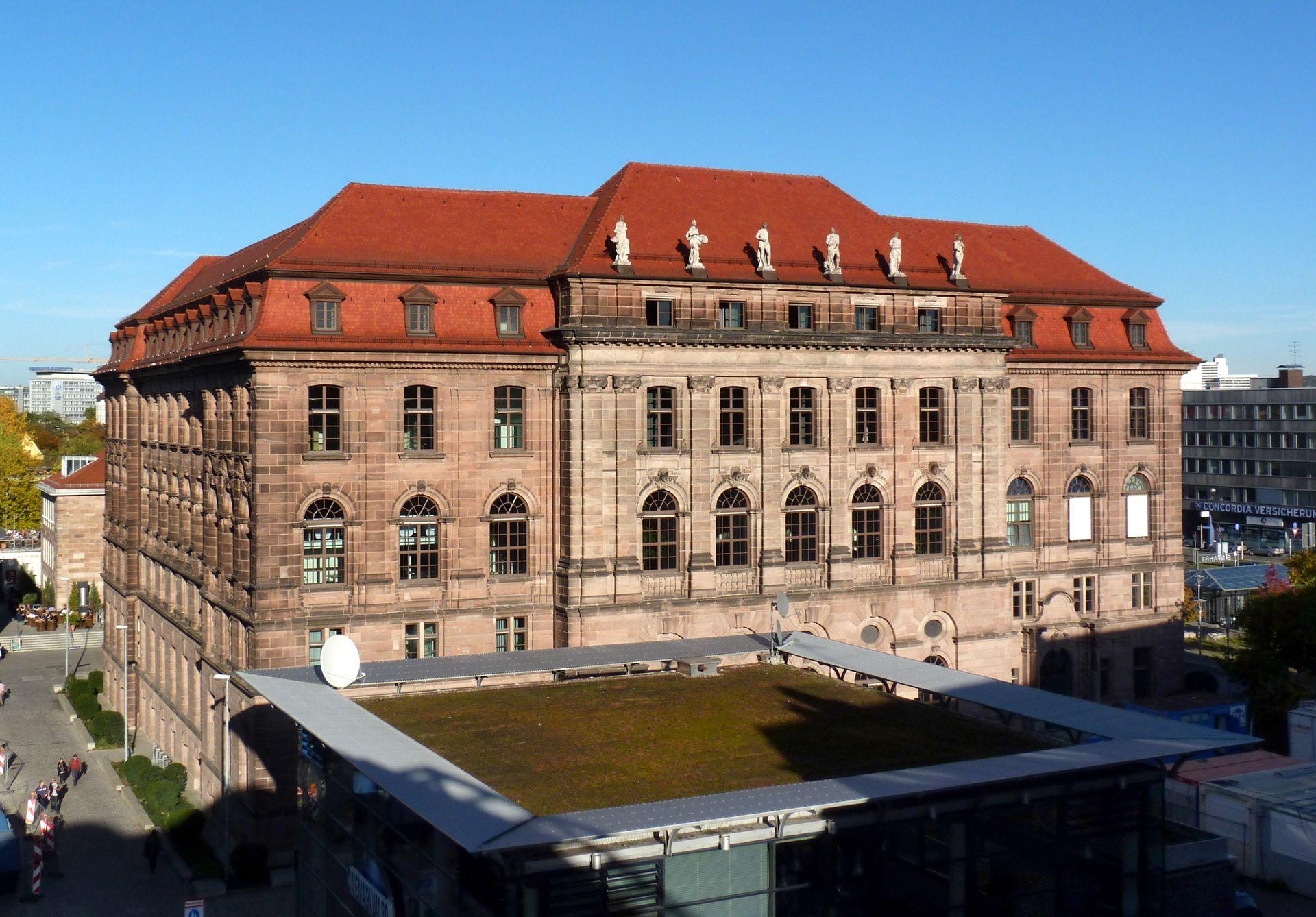 Former Bavarian Trade and Business Institute (Landesgewerbeanstalt) Southwest front