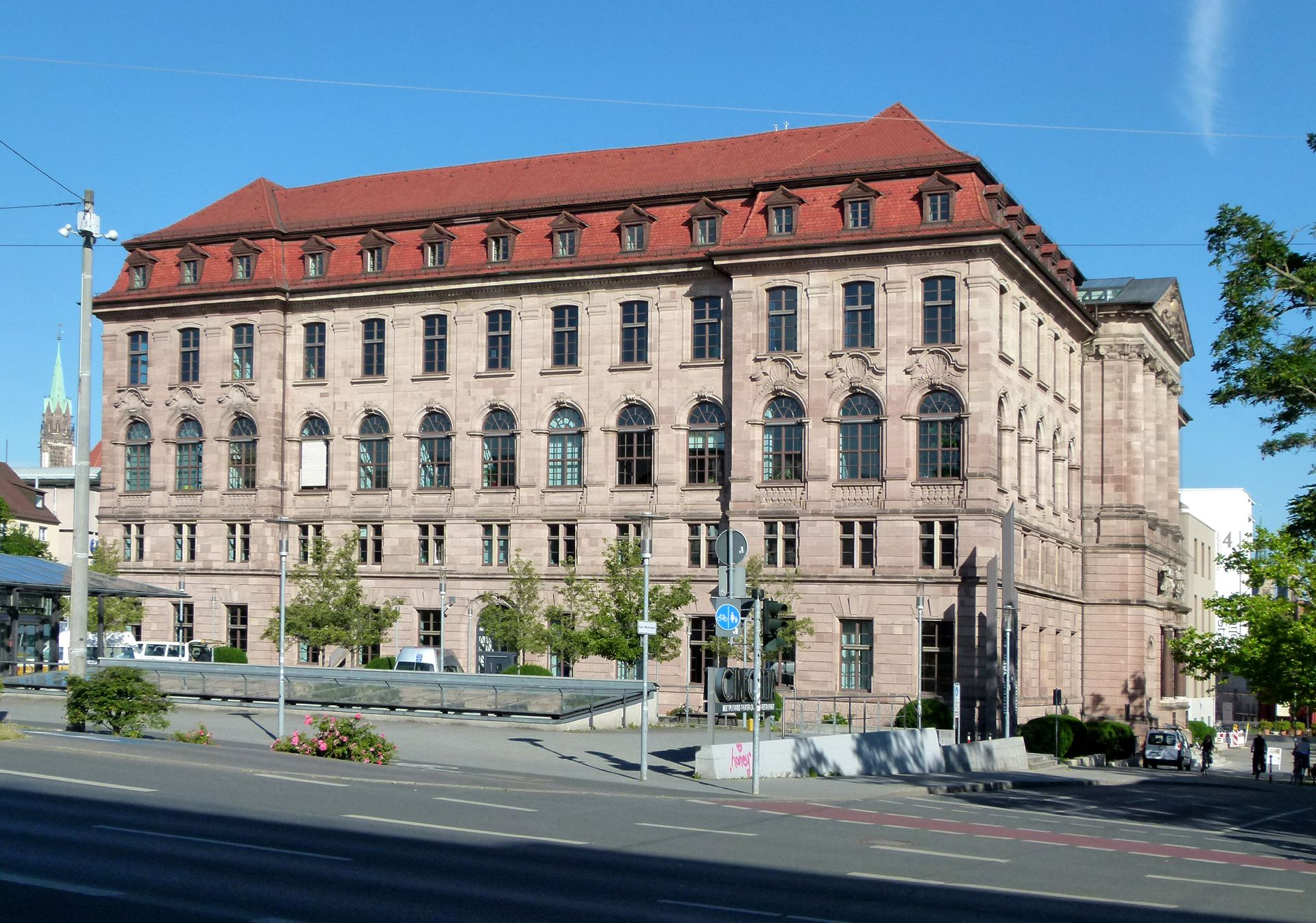 Former Bavarian Trade and Business Institute (Landesgewerbeanstalt) Southeast front