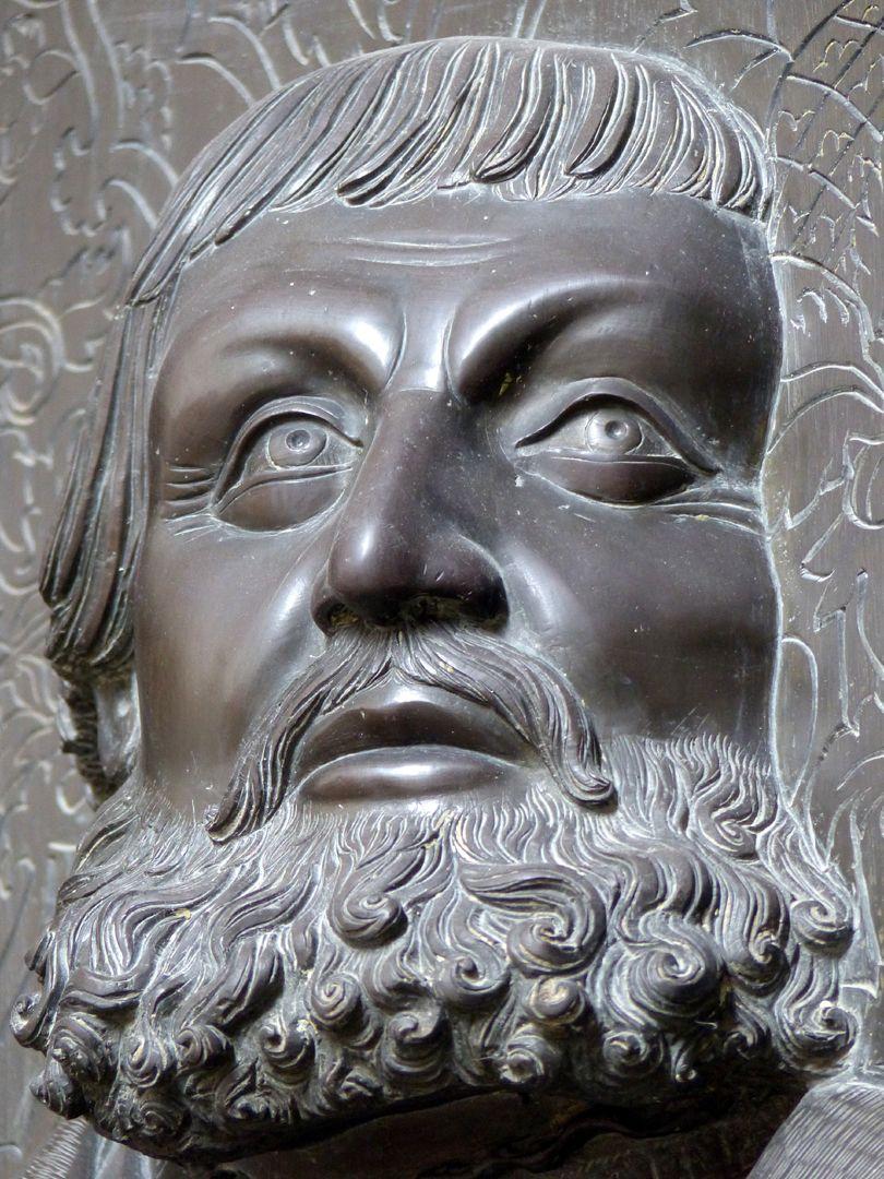 Walter von Cronberg Gesicht von vorne