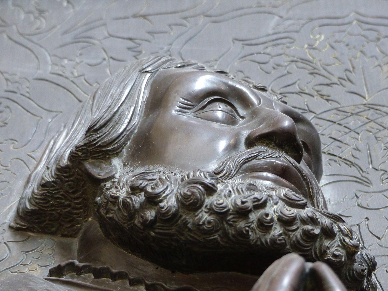 Walter von Cronberg Kopf von unten