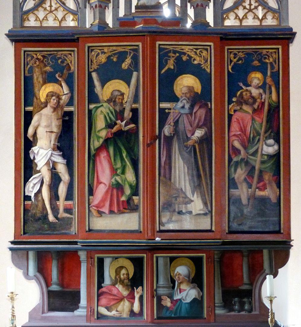 Wendelstein Three-Kings´ Altar Main piece closed