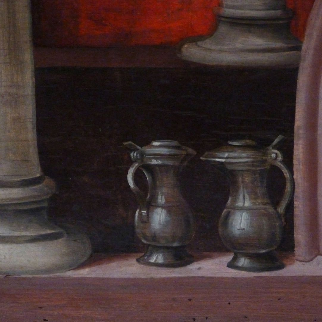 Wendelstein Three-Kings´ Altar Base of the altar, detail of the painting