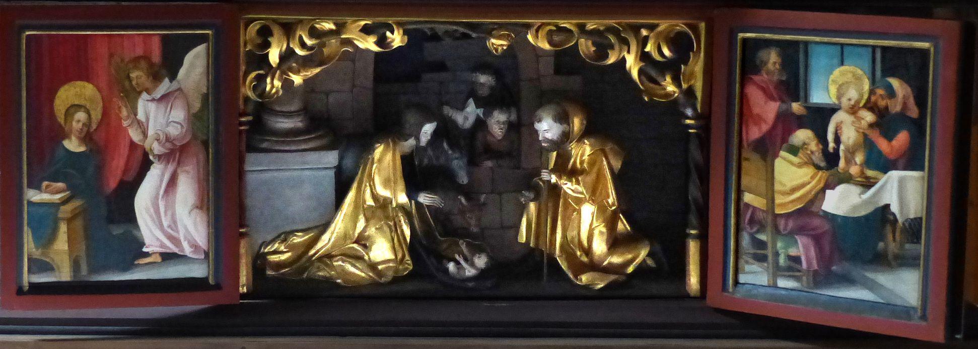 Wendelstein Three-Kings´ Altar Predella