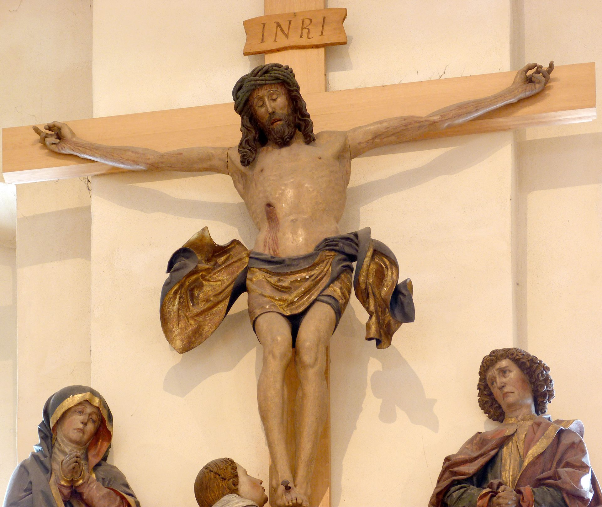 Crucifixion group Detail