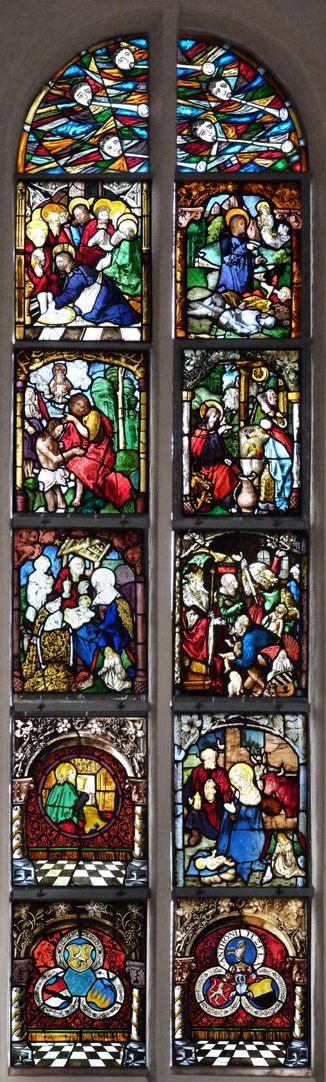St. Bartholomäus, Chorfenster n II Gesamtansicht