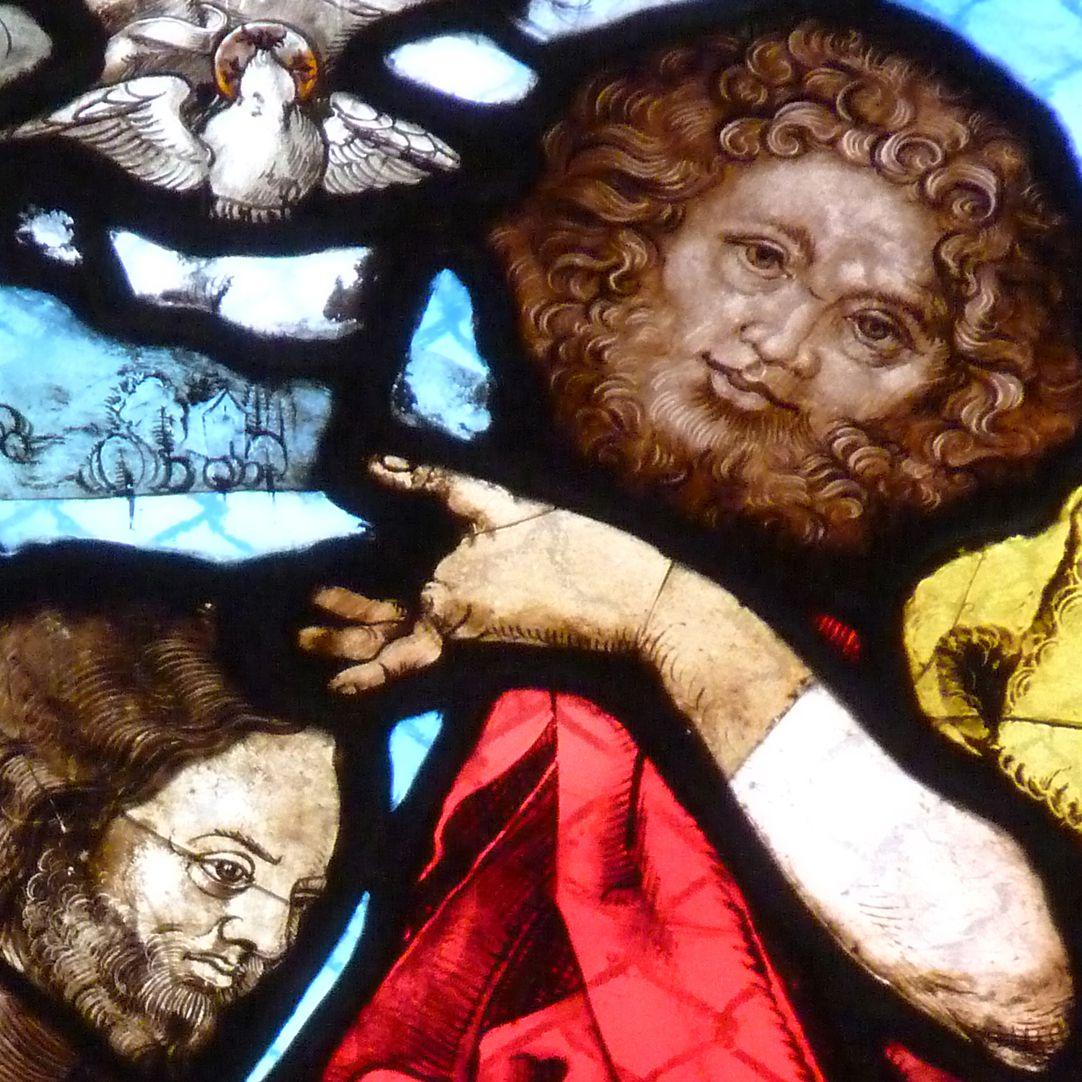 St. Bartholomäus, Chorfenster n II Vierte Zeile, Fenster a, Detail
