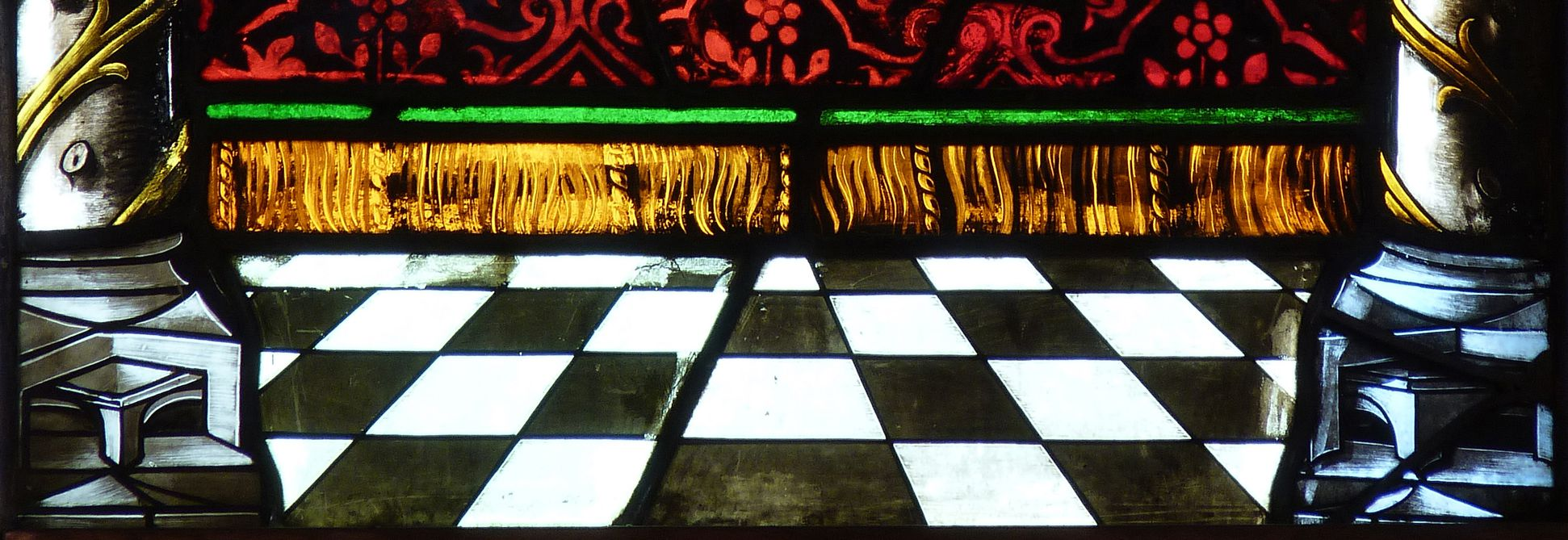 St. Bartholomäus, Chorfenster n II Erste Zeile, Fenster a, Detail