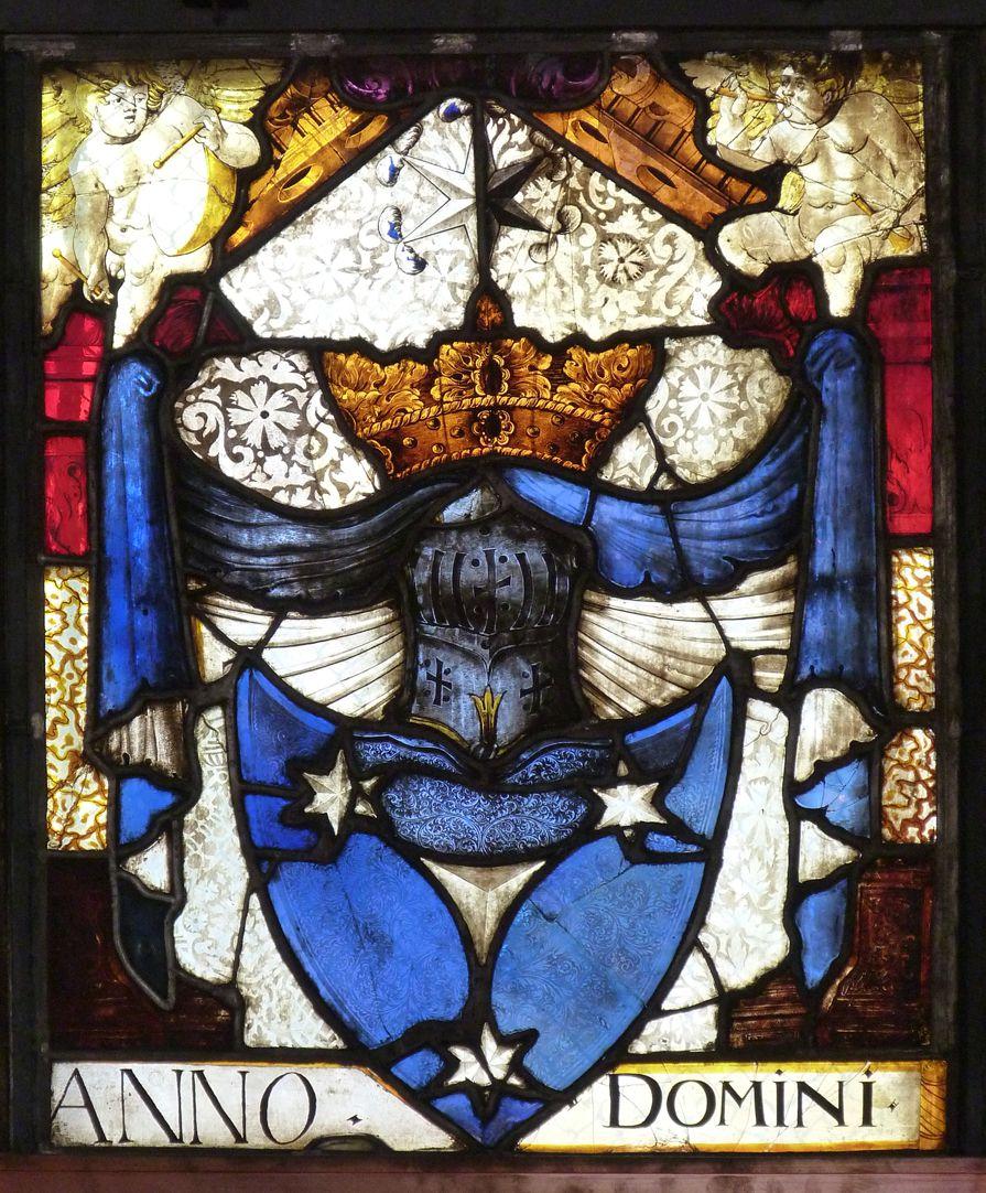 St. Bartholomäus, Chorfenster n III Geudersches Wappen